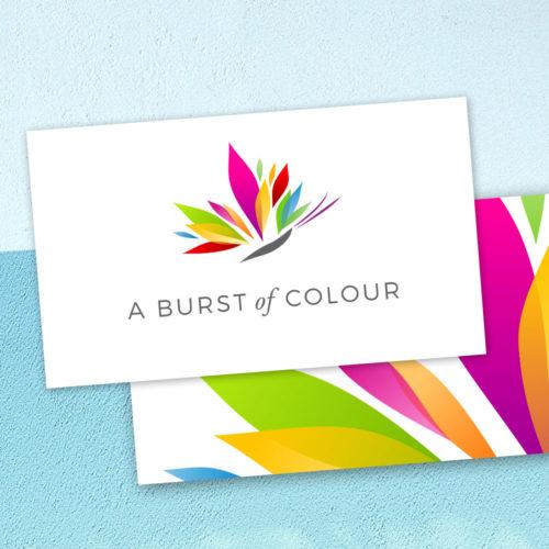 A Burst of Colour brand